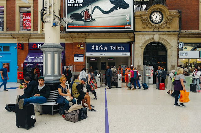 ロンドン・ヴィクトリア駅(London Victoria station)のトイレ