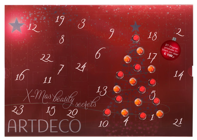 Artdeco beauty Advent calendar 2016 calendrier de l'avent Adventskalender