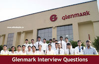 Glenmark Pharmaceuticals Interview Questions