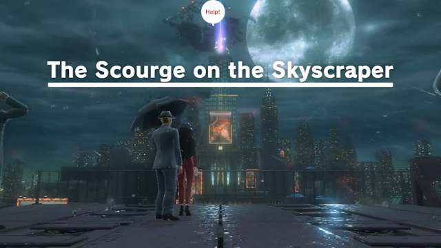 Super Mario Odyssey The Scourge on the Skyscraper New Donk City night nighttime