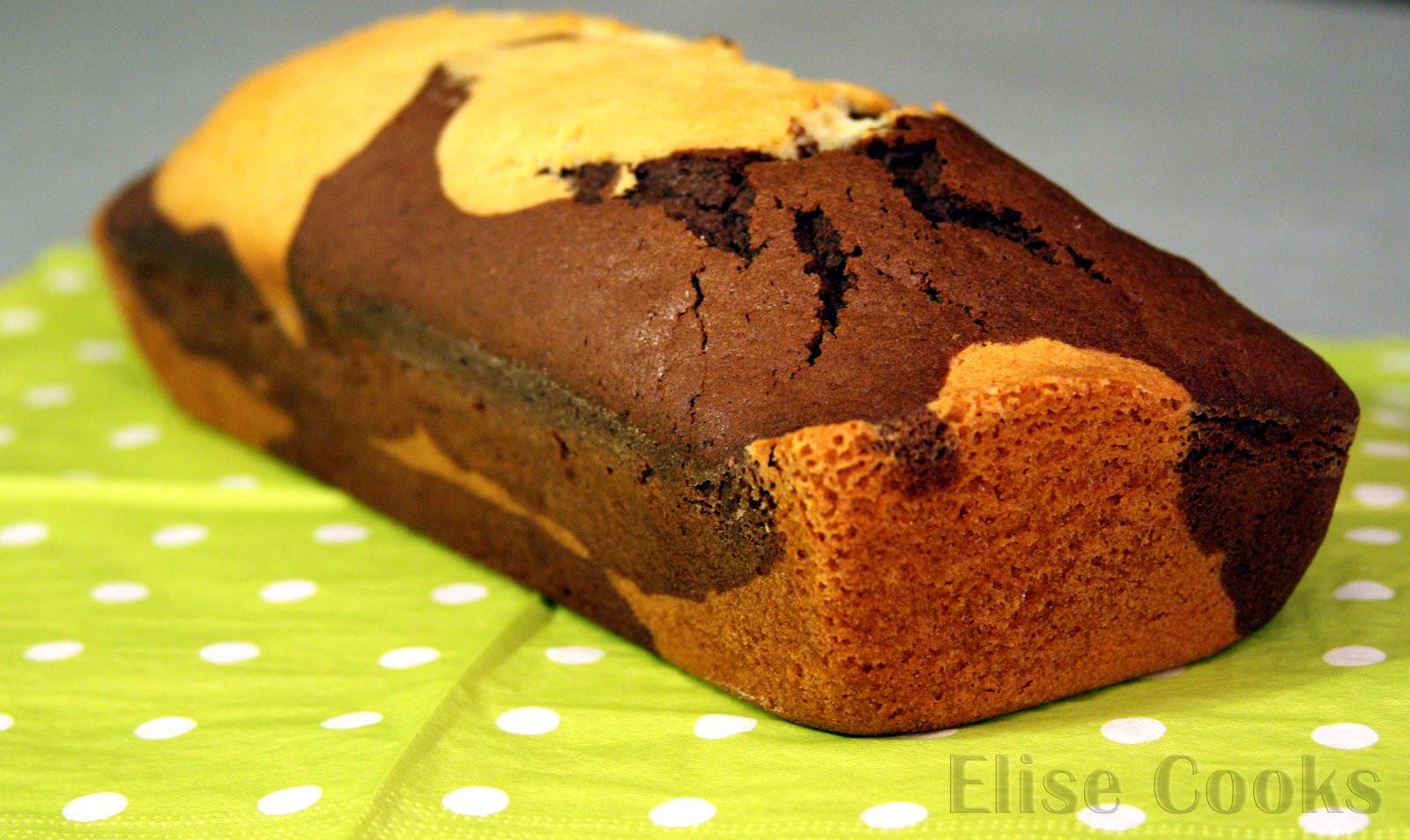 Cake Marbr Ef Bf Bd Confiture De Lait Marmiton