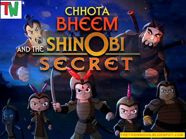 "Watch Online And Download Pogo Tv Chhota Bheem New Movies ""Chhota Bheem And The Shinobi Secret"" In Hindi Full Movie In 720p, HD Only On TOONWOOD"