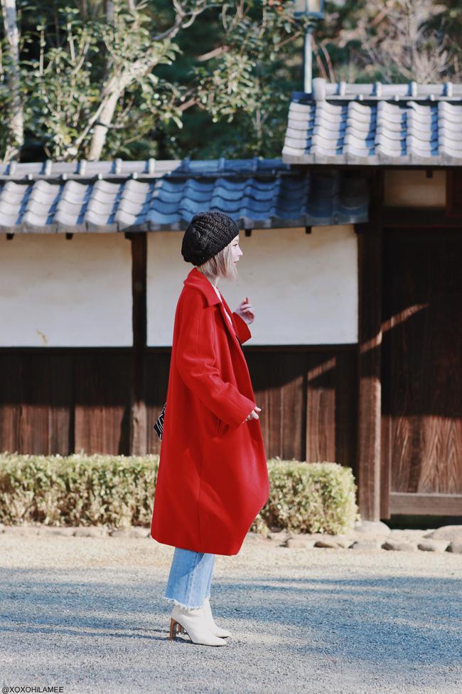 Japanese fashion blogger,MizuhoK,2020,jan02 outfit