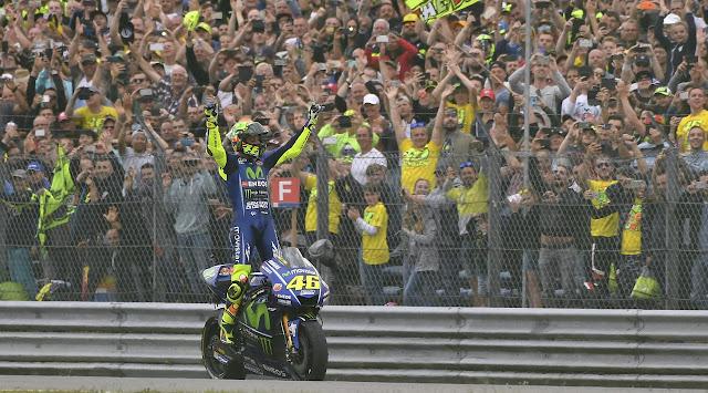 Tatap MotoGP Jerman, Rossi Waspadai Rapor Marquez