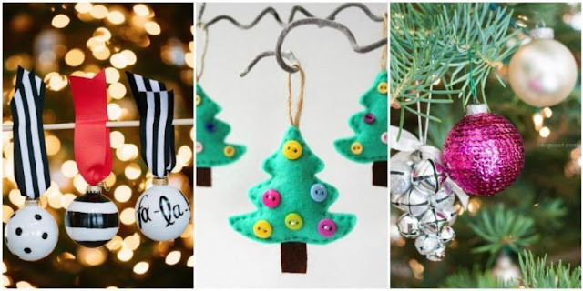 Homemade Christmas decorating ideas