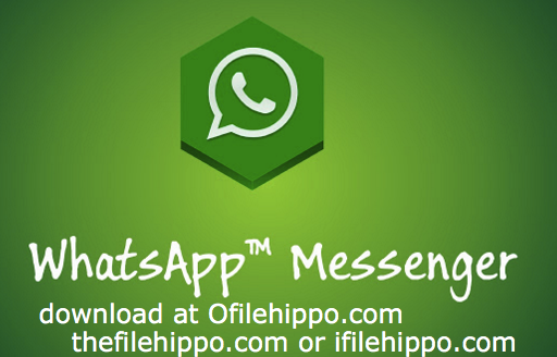 Filehippo WhatsApp for PC Windows - New 2017 free latest setup exe