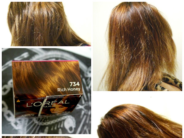 REVIEW // L'OREAL CASTING CREME GLOSS HAIR DYE IN ' RICH HONEY'