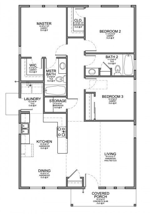 Civil and Architectural Engineering Small House Plan- Love the