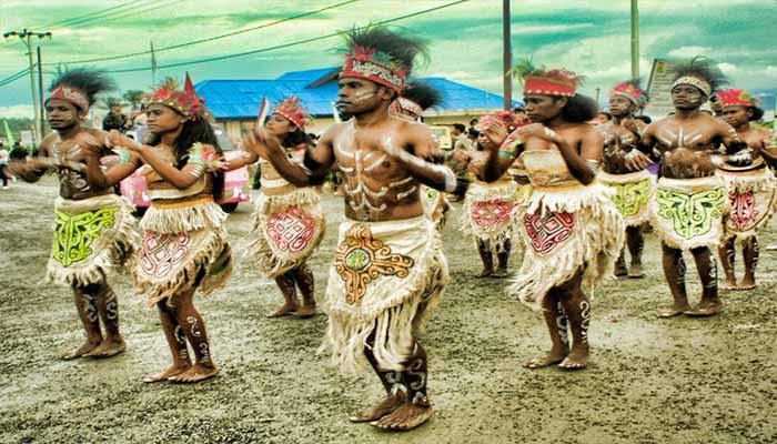 Tari Sajojo, Tarian Tradisional Dari Papua