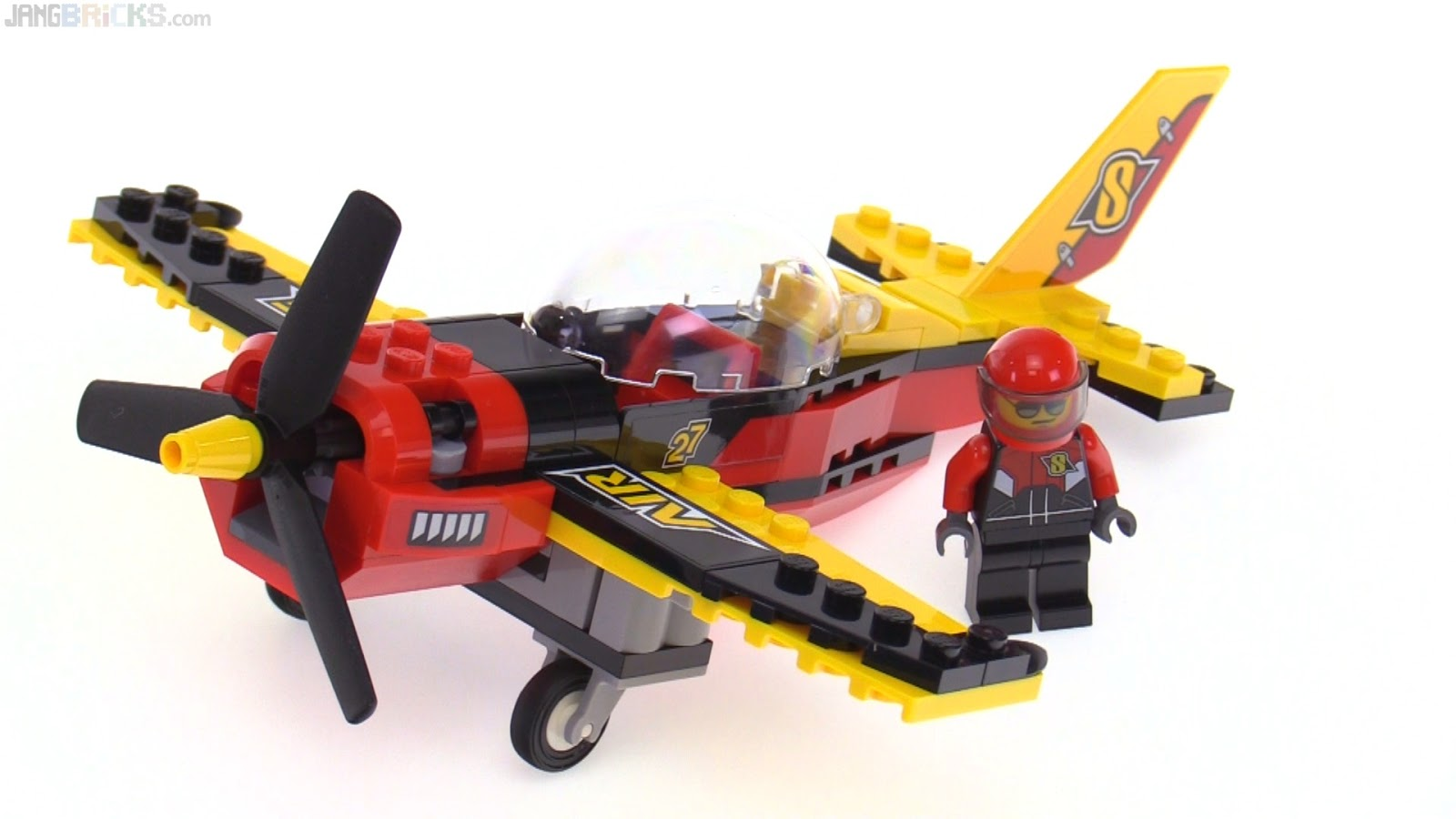 how to build a lego plane