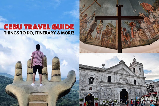 THINGS TO DO IN CEBU ITINERARY Tourist Spots Attractions and Things To Do and Experience