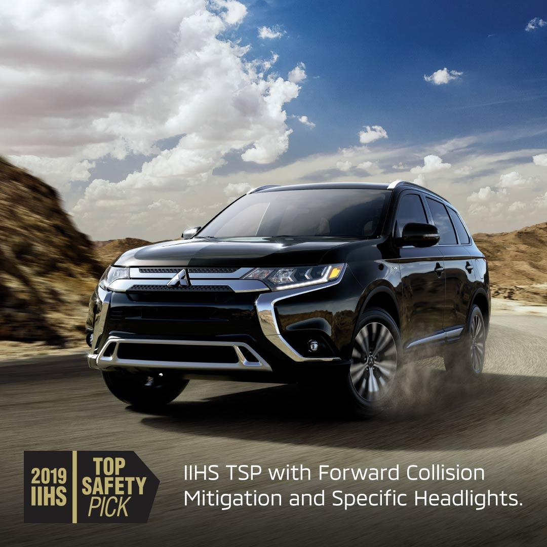 fountain mitsubishi mitsubishi outlander earns top safety pick rating from iihs fountain mitsubishi blogger