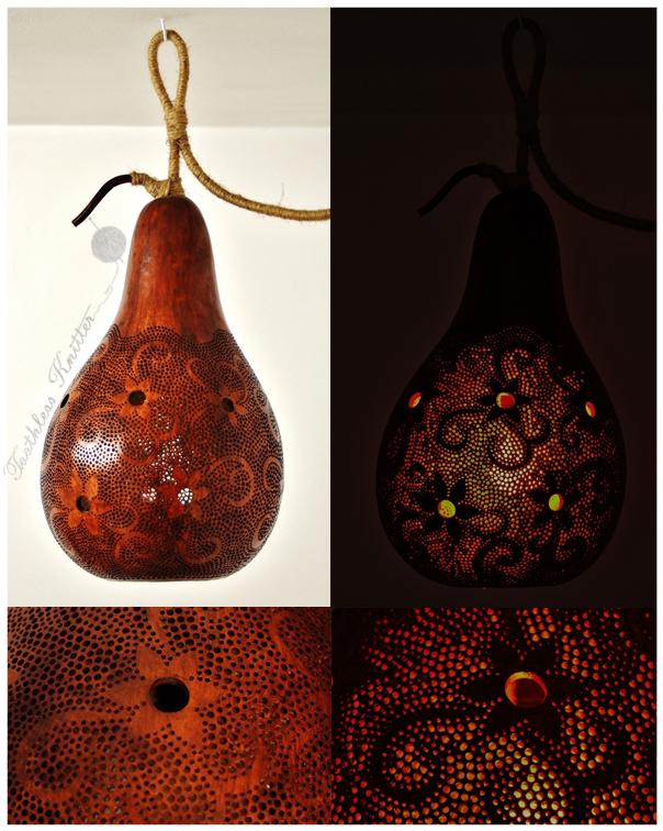 Calabash Lamp/Lampa z Tykwy