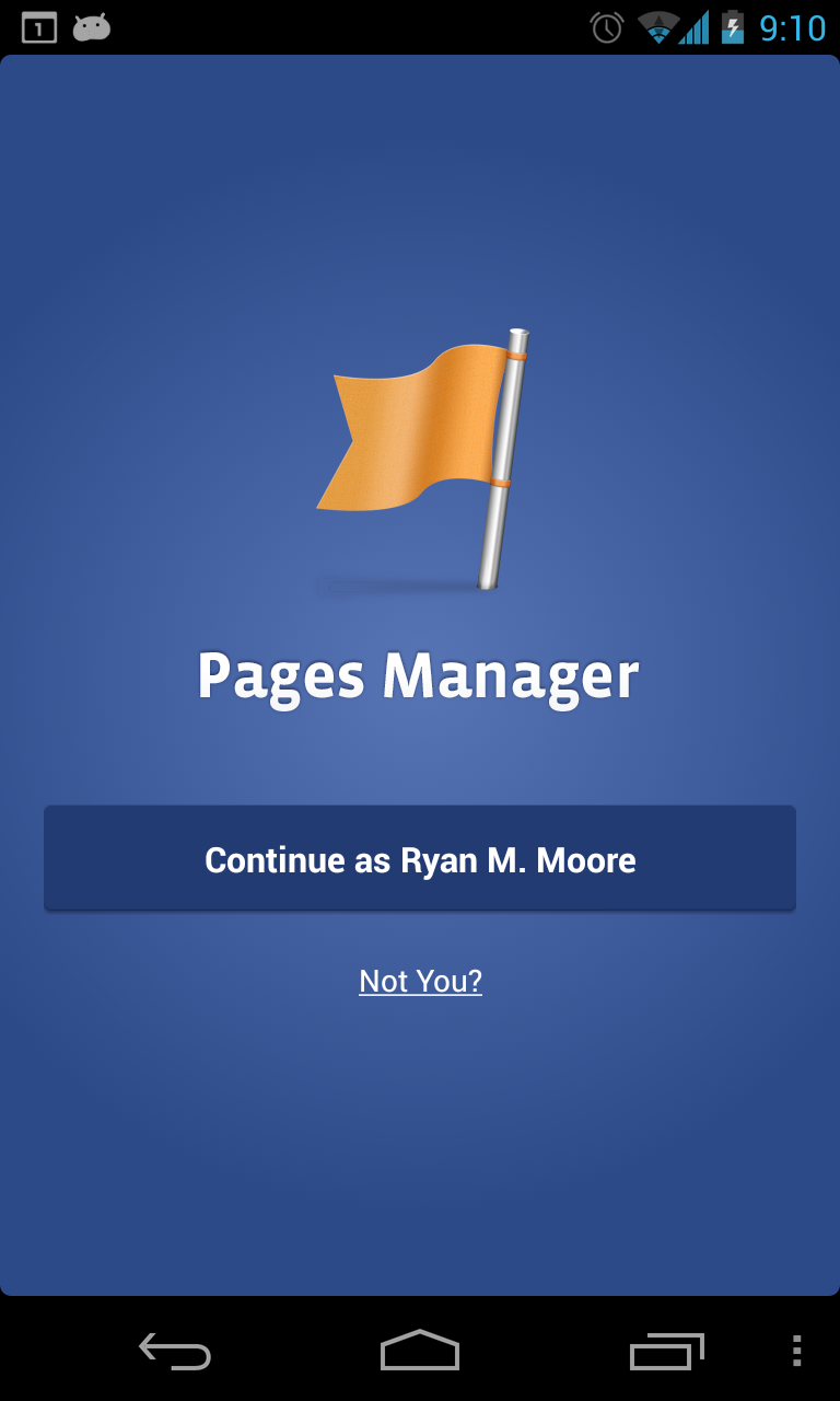 Facebook releases Page Manager for Android ~ Android Coliseum