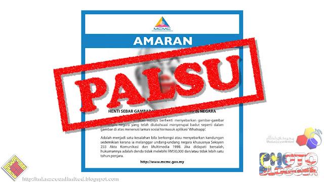 KUALA LUMPUR - Suruhanjaya Komunikasi dan Multimedia Malaysia (SKMM) hari  ini menafikan menggeluarkan satu poster amaran tapisan internet yang  mengandungi ... a46c2b250b