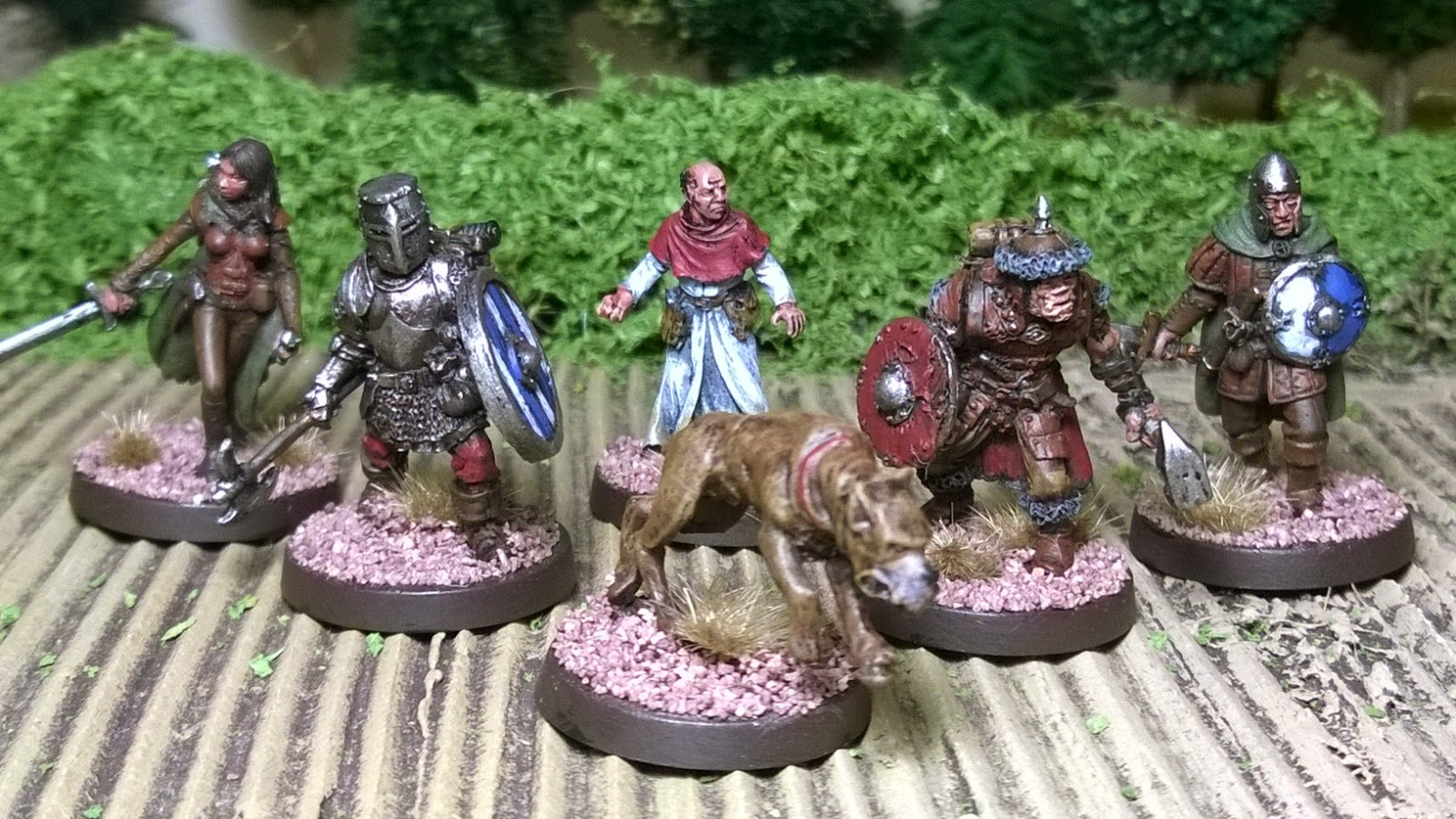 heresy otherworld miniature war dog skirmish game