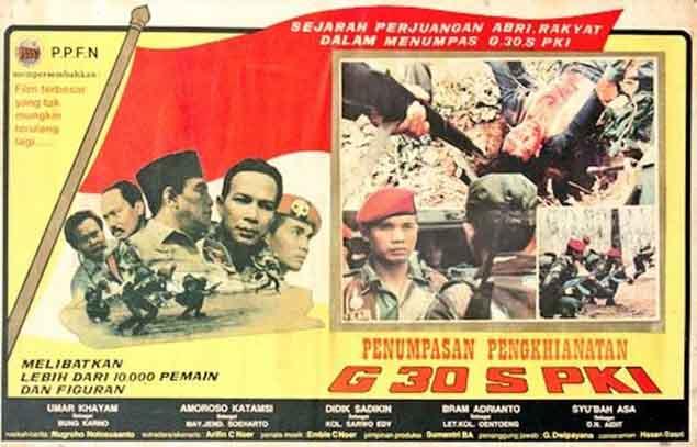 TV One Dikabarkan Akan Tayangkan Film Penumpasan Pengkhianatan G30S/PKI