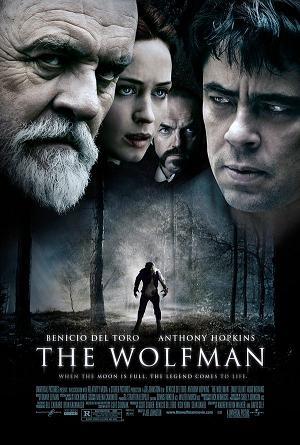 Poster of The Wolfman 2010 720p Hindi BRRip Dual Audio Full Movie Download