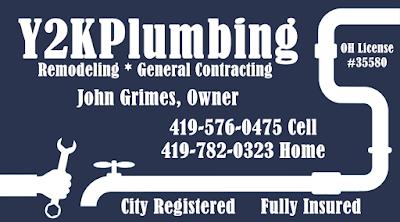 Y2K Plumbing Defiance, Ohio