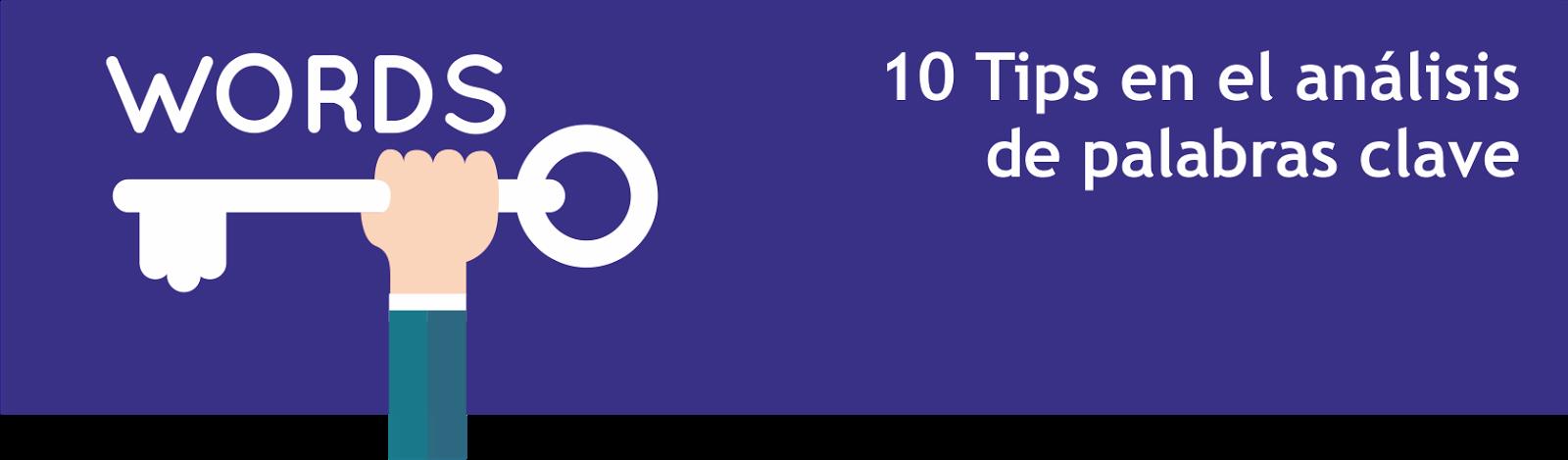 10 Tips en el análisis de palabras clave