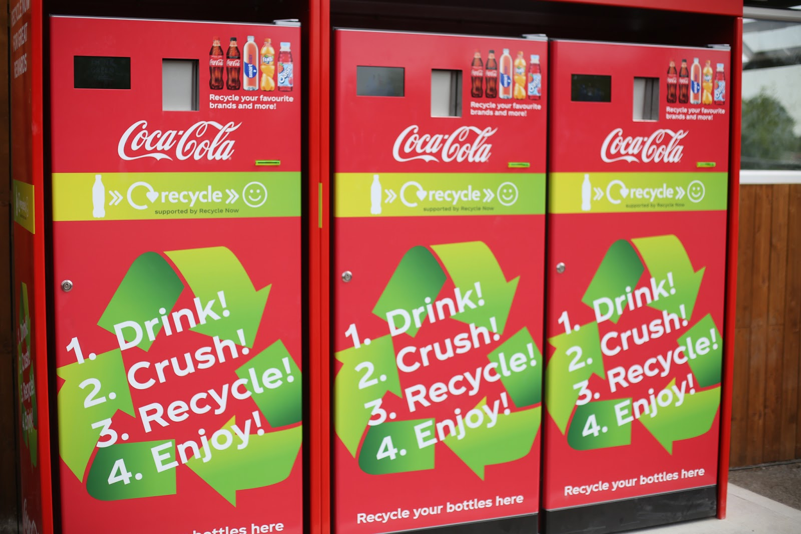 Coca Cola recycle