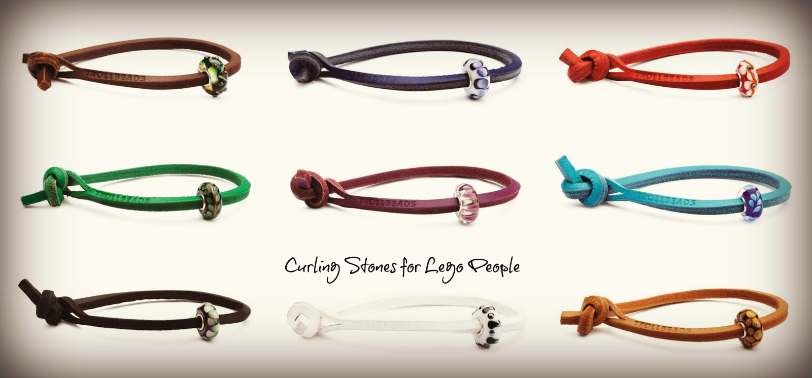 New Trollbeads Single Leather Bracelets With Unique Beads