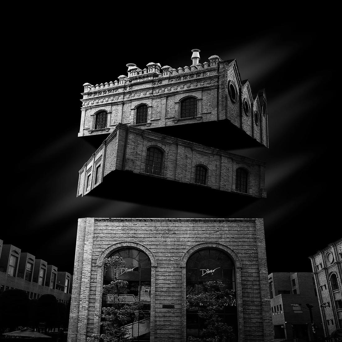 04-Daniel-Garay-Arango-Black-and-White-Surreal-Photographs-Architectural-Deconstruction-www-designstack-co