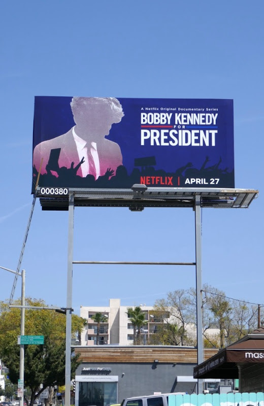 Bobby Kennedy for President Netflix billboard
