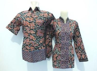 Baju Batik Kerja untuk Guru