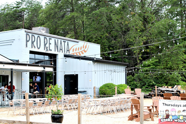 Founded by a doctor & his friend from college, Pro Re Nata Farm Brewery in Crozet, Virginia always has 6 their flagship beers on draft as well as a rotating selection of seasonal & sometimes experimental brews.