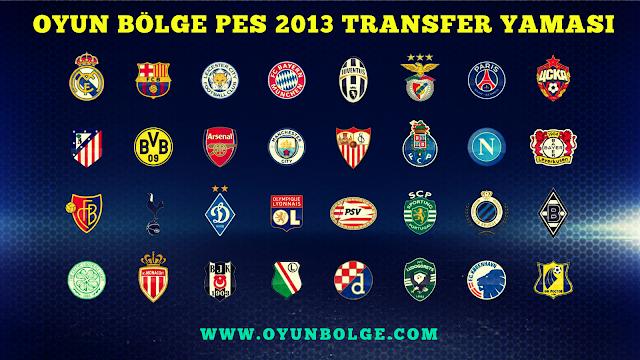Pes 2013 Transfer Yaması Güncel 2017 Final