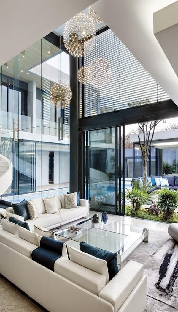 El blog de demarques 15 salones con grandes ventanales for Ventanales grandes de segunda mano