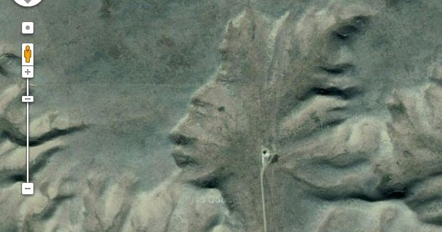 The Mysterious Face Of Badlands Guardian Unsolved