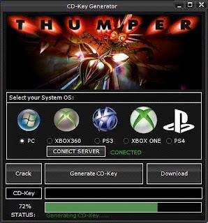 Thumper CD Key Generator (Free CD Key)
