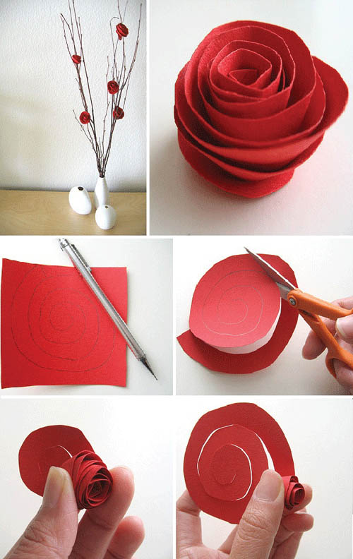 19 Cara Membuat Kerajinan Bunga Dari Kertas Part 2 Kepompong Kreatif