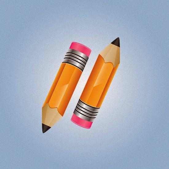 Create a Stylish Pencil Icon in Illustrator