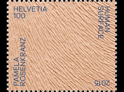 Suiza - Sello diseñado por Pamela Rosenkranz para la Bienal de Venecia 2015