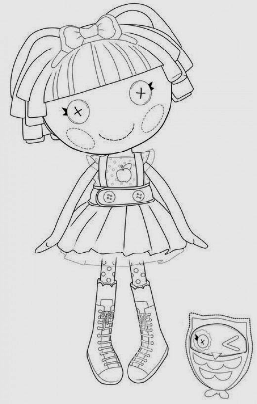 Fun Coloring Pages: Lalaloopsy Doll Coloring Pages