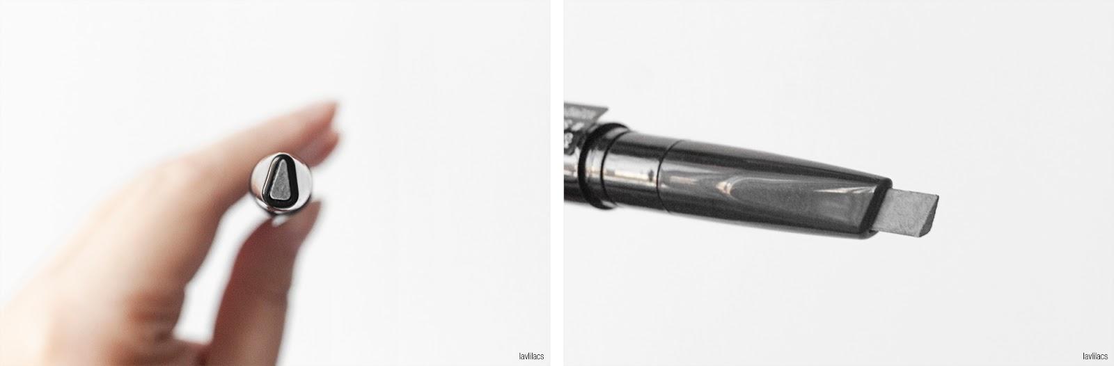 lavlilacs JUNGSAEMMOOL Refining Color-bony Brow - Smoky Bony closeup