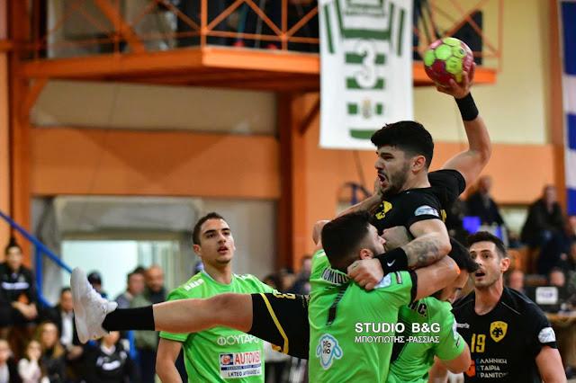 30-17 νίκησε η ΑΕΚ τον Διομήδη Άργους