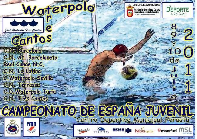 Waterpolo madrid a las puertas del campeonato de espa a for Piscina foresta tres cantos