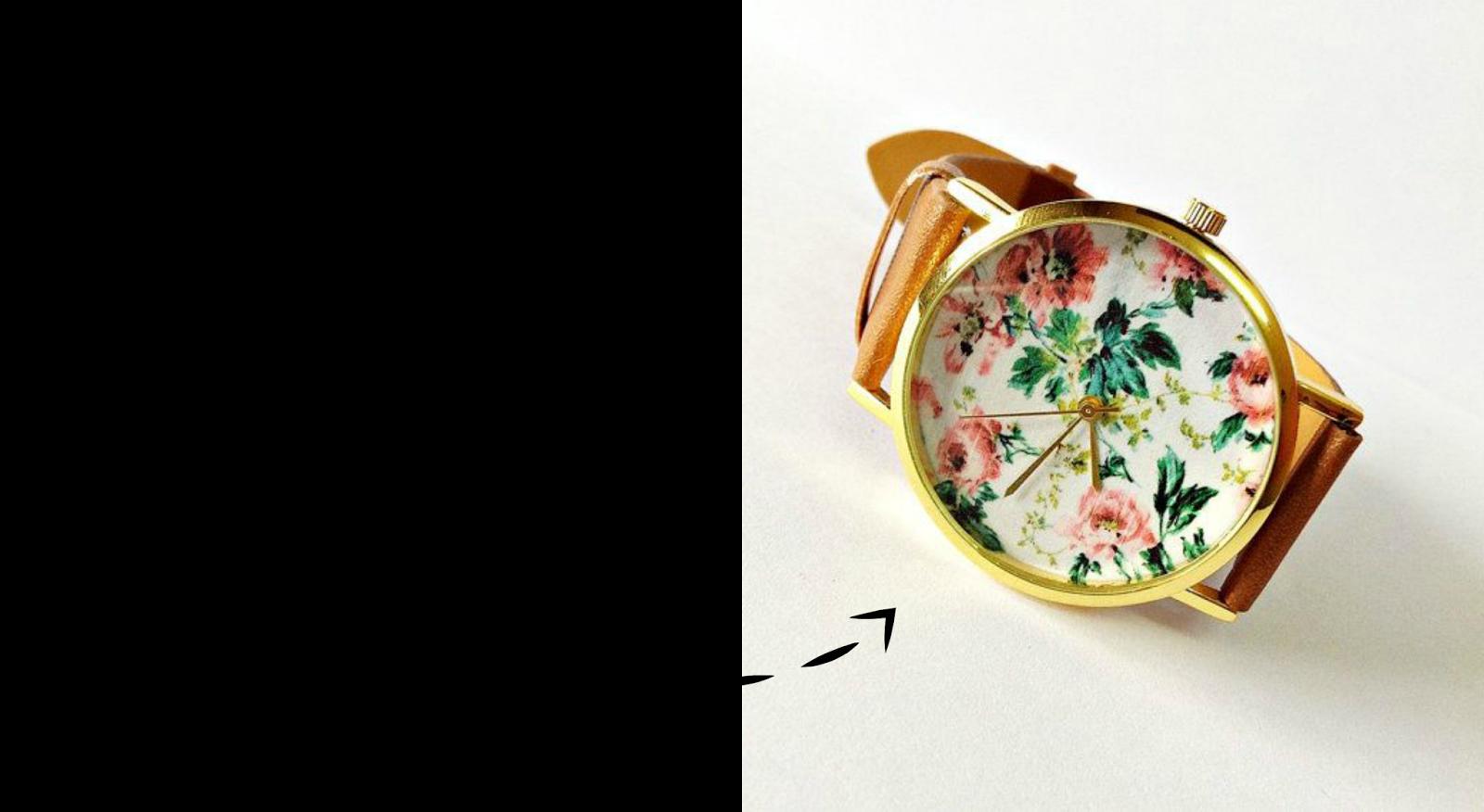 questionquiz cher ou pas cher la montre fleurie nana toulouse. Black Bedroom Furniture Sets. Home Design Ideas