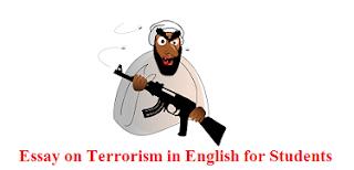 Essay on Terrorism in English