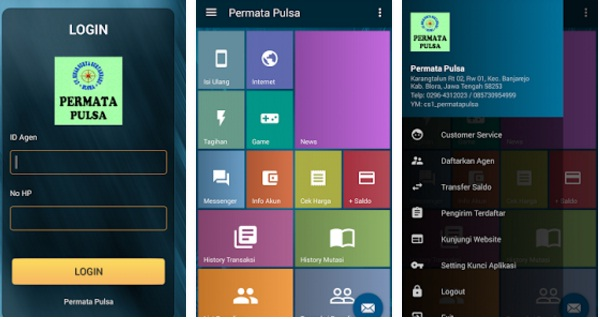 Cara Top up Pulsa Permata Mobile