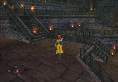 Dragon Quest VIII - El Periplo del Rey Maldito - Escaleras