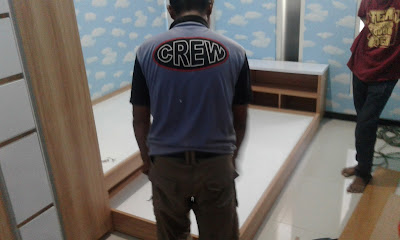 bed base tingkat interior kamar anak