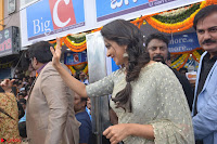 Rakul Preet Singh in a Designer saree at Launch of BIG C Show room at  Kurnool ~ Celebrities Galleries 043.jpg