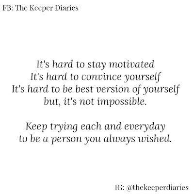 Quotes to Motivate YOU | The Keeper Diaries