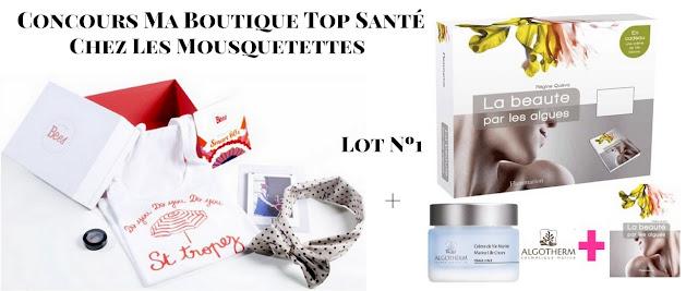 Résultat concours Ma Boutique Top Santé - Les Mousquetettes©