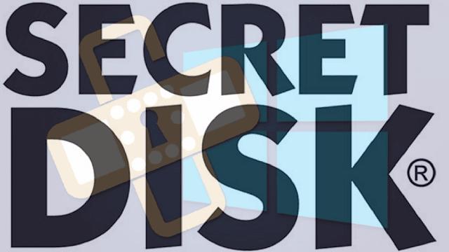 إنشاء قرص جديد على الويندوز وإخفائه وتشفيره بكلمة سر Secret Disk
